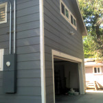 The garage we built together