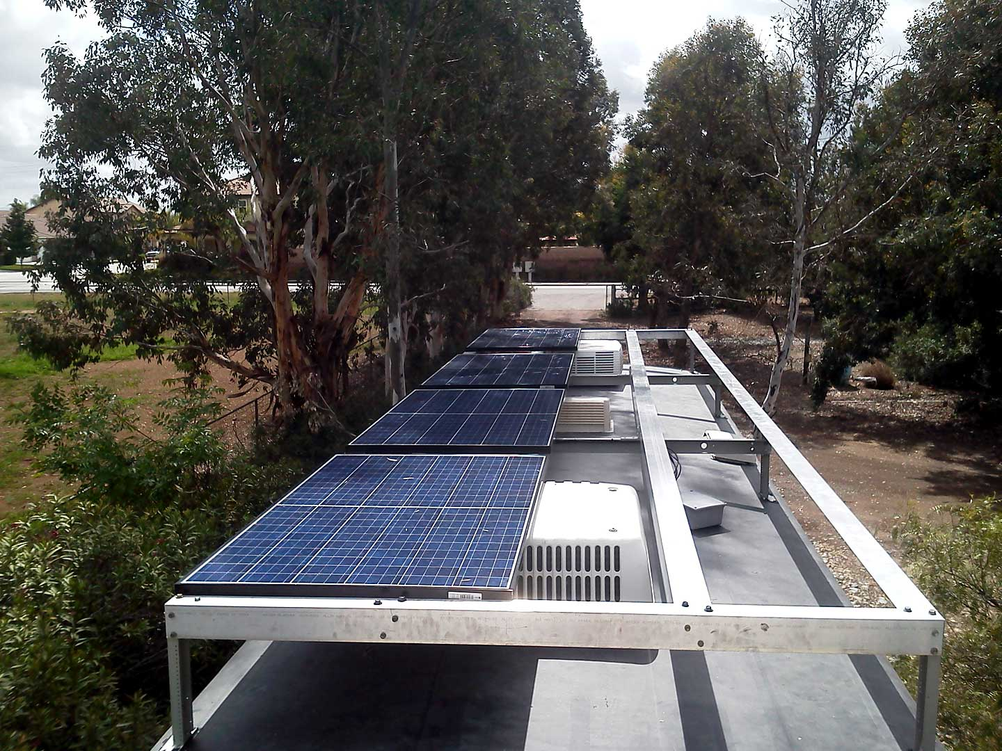 Solar Array And Rv Electric System Upgrade On Borrowed