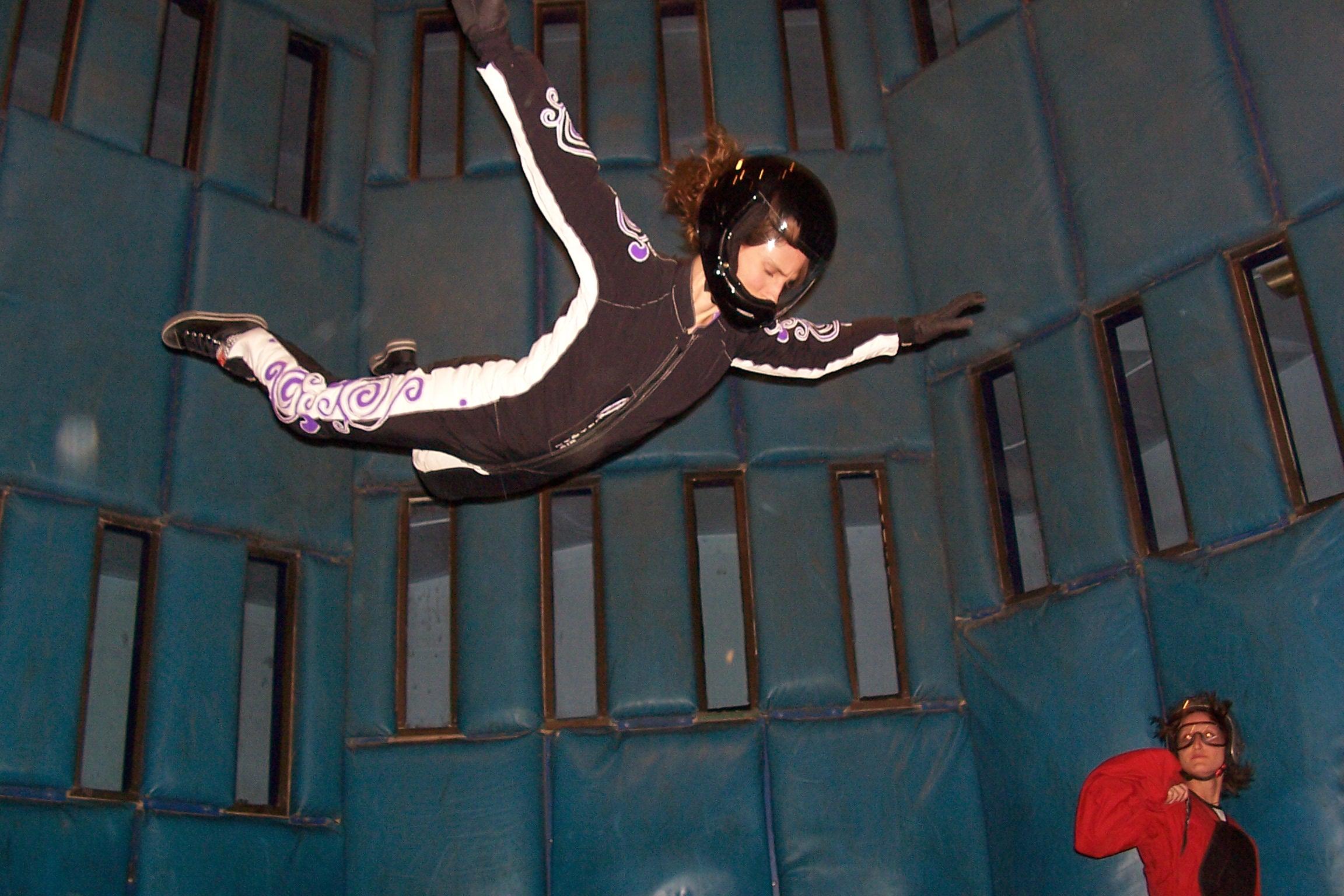 Vegas Indoor Skydiving – Flyaway Las Vegas, NV – On Borrowed