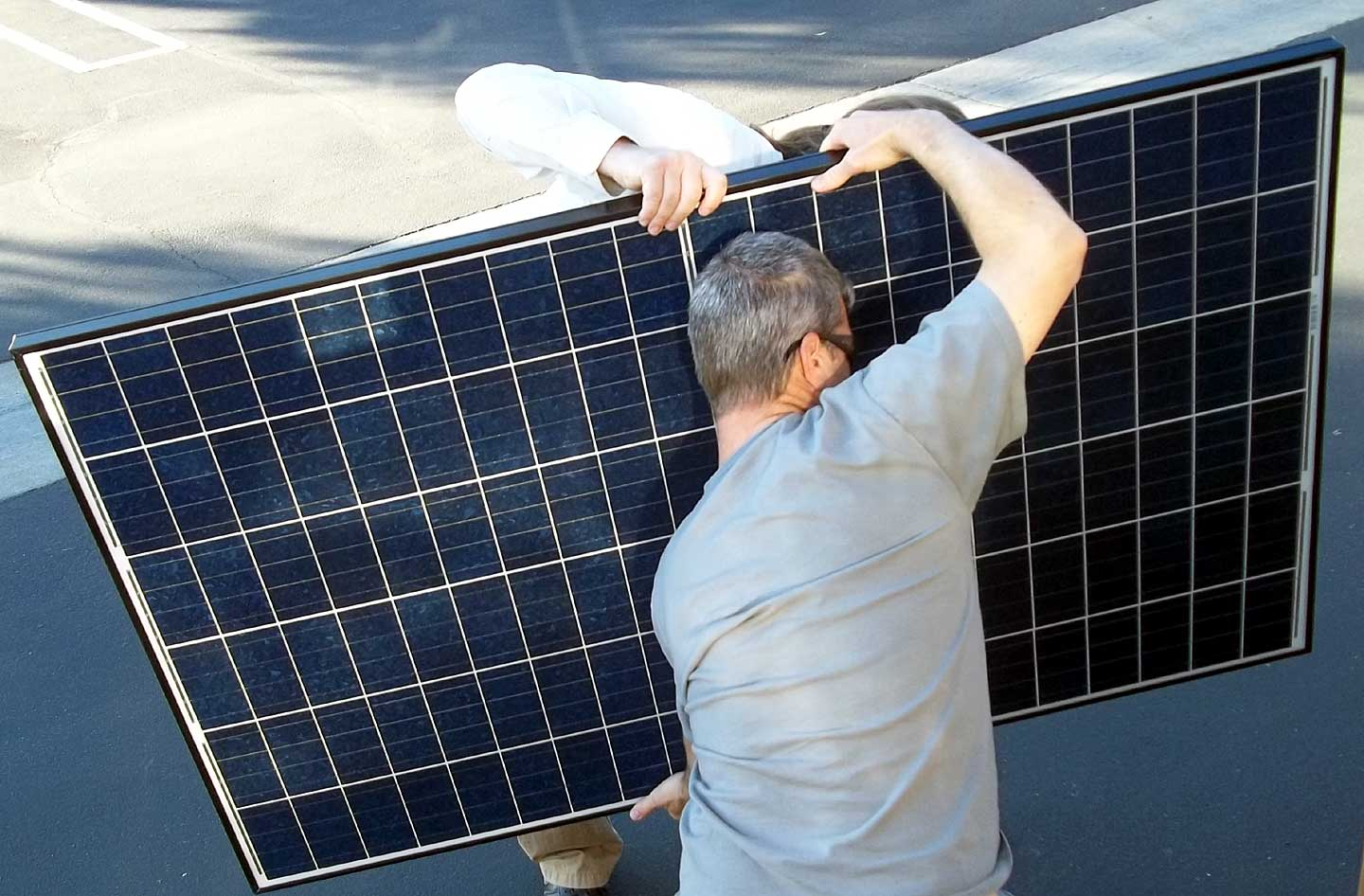 Solar Array And Rv Electric System Upgrade On Borrowed Land Electrical For A Class Motorhome Where Part Of The